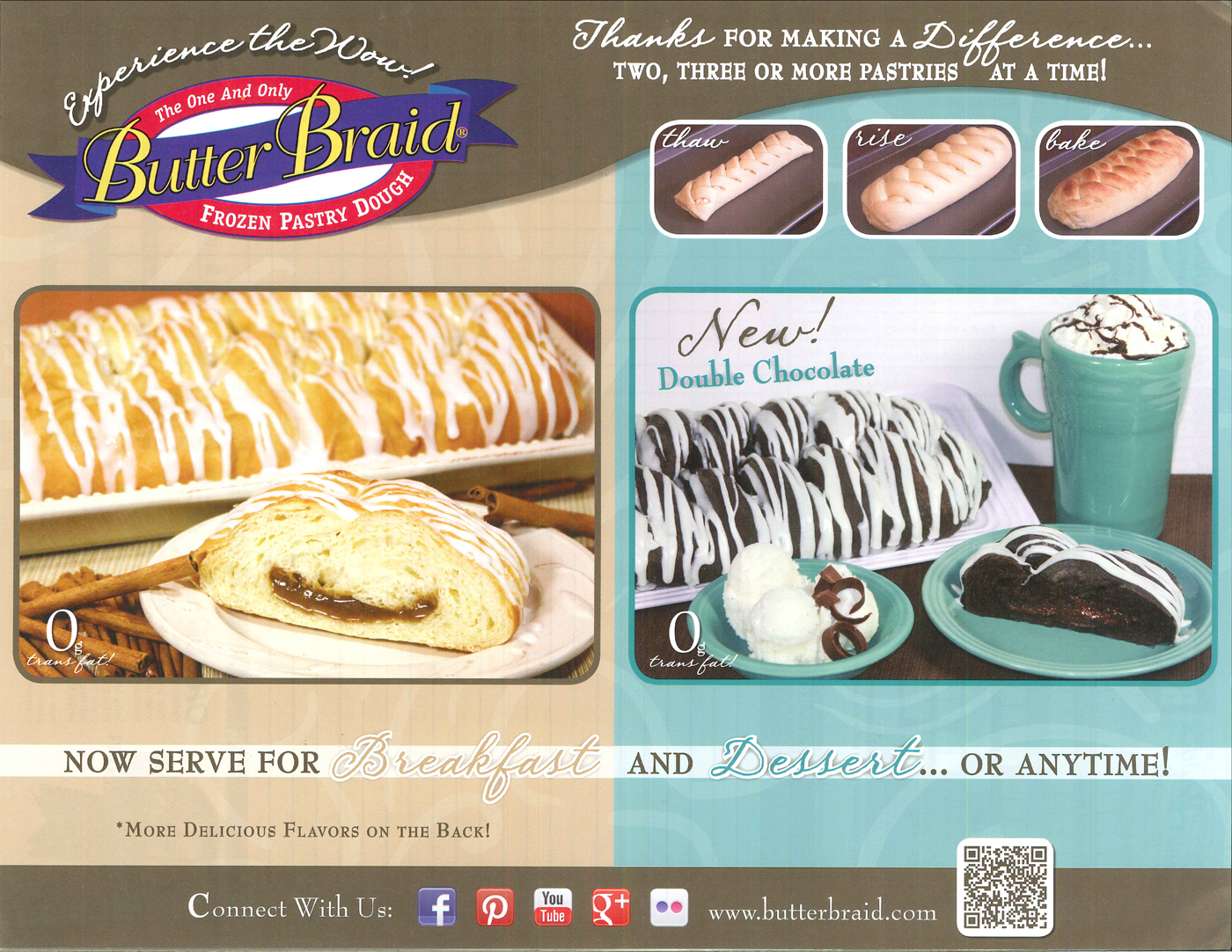 Butter Braid® Pastry
