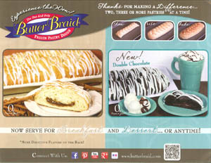 Butter Braid Pastry Brochure