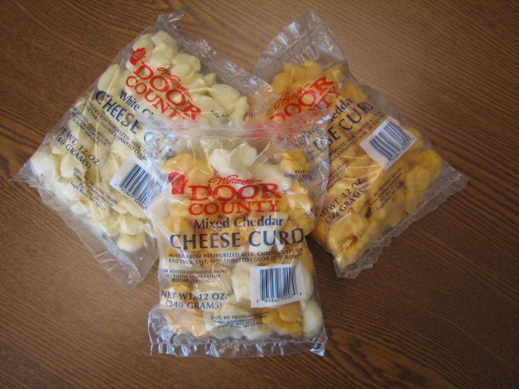 Door County Yellow Cheese Curds (12 oz. bag)
